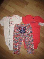 Набор комплект Carter&acutes Картерс для девочки