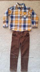 Рубашка Next р. 4-5 л, 110 см