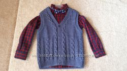 Набор Next жилетка-рубашка-галстук р. 4-5 л 110 см