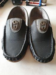 Туфли мокасины для мальчика р. 29, 18 см