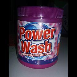 Кисневий відбілювач, Пятновыводитель Power Wash Anti-Fleck Weiss Pulver 600