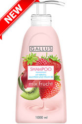 Шампунь Gallus олива,  Mix Frucht 1000 мл