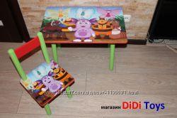 Детский столик Лунтик и другие герои