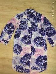 Очень красивая блуза-рубашка Dorothi Perkins c 3D цветами