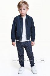 Джоггеры спортивные штаны H&M НМ для мальчика без начеса