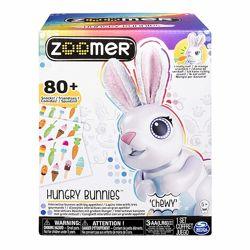 Интерактивный голодный кролик Зумер Zoomer Hungry Bunnies