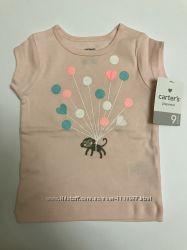 Новая футболка carter&acutes размер 9 месяцев