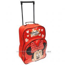 Рюкзак-чемоданчик на колесиках Frozen, Минни, Стар Варс, Спайдермен
