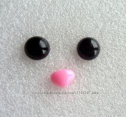 глазки и носики для изготовления игрушек 3 грн швейная фурнитура