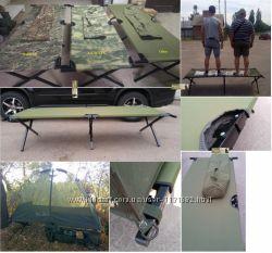 Раскладушка лежак НАТО натовская самая прочная