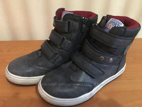 Стильные деми высокие ботинки в наличии 27, 29, 30 размеры