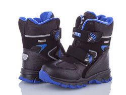 Зимние ботинки на овчине на мальчика 27-31 в наличии