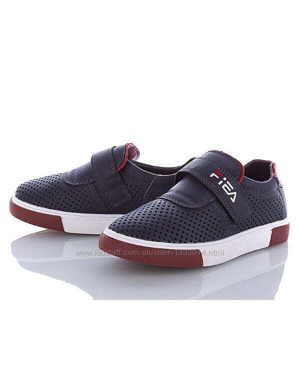 Перфорированные мокасины туфли Kellaifeng школьные 32-37 размеры