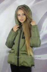Стильные зимние куртки для модниц есть модельки на большие размеры