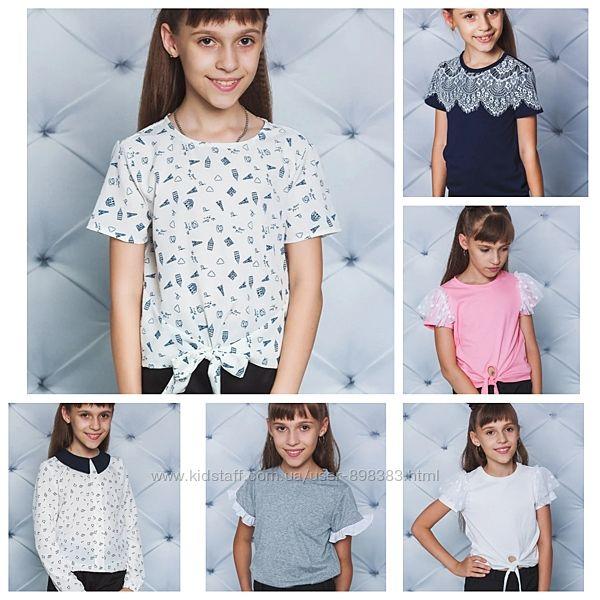 Красивые блузки для девочки на любой случай