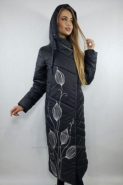 Зимнее стильное пальто для женщин