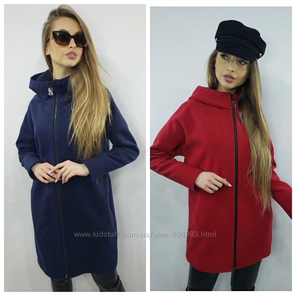 Молодежное стильное пальто