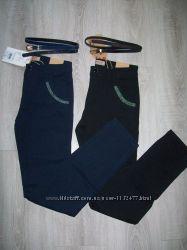 брючки, брюки  коттон в школу  140-164 Венгрия
