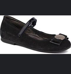Туфли девочке Шаговита темно-синие 32 размер