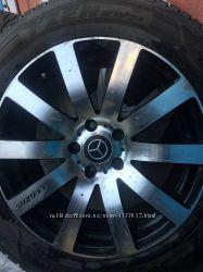 Зимняя резина с дисками R17 для Mercedes