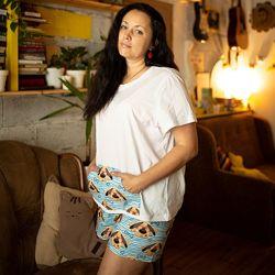 Пижама футболка и шорты Собачки хлопковая 44-54