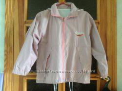 Куртка-ветровка двусторонняя для девочки рост 140
