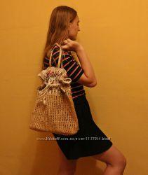 плетённая сумка, сетка, кошёлка, корзина Италия