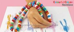 Карандаши мелки Colourful crayon 84 для рисования бусы