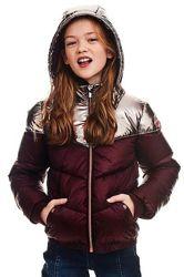 Красивая куртка на девочку 10-12 лет garcia . новая