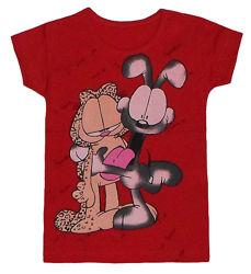 Детская футболка с Гарфильдом Турция