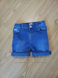 Фирменные джинсовые шорты на 2-3 года