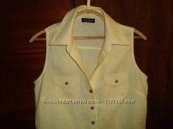льняная блуза Sixth Sence нежно-лимонного цвета