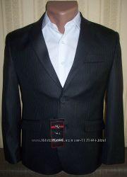 Пиджак школьный приталенный для мальчиков 36-146, 38-146 Украина