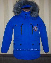 Куртка парка зимняя для мальчиков подростков  146, 158 Венгрия