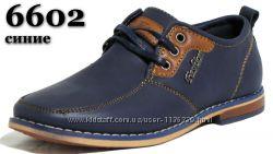 Школьные туфли, ботинки Paliament, кожаная стелька, супинатор, р. 32-40