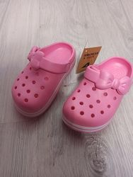 Кроксы шлёпанцы летняя літнє обувь взуття девочке дівчинці american club