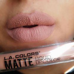 Матовая жидкая помада LAColors Matte Liquid Lip Color
