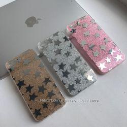 Силиконовый чехол Звезды для iPhone 55S, 66S