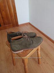 Качественные мужские ботинки 100  натуральная замша и кожа внутри.