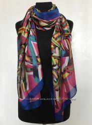 Шикарный шелковый шарф
