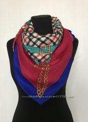Брендовый женский платок
