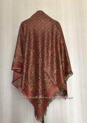 Теплый женский платок из пашмины