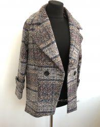 Женское пальто пиджак в клетку. Супер цена
