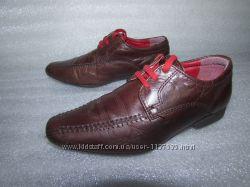 Туфли в школу для мальчика натуральная кожа RED TAPE
