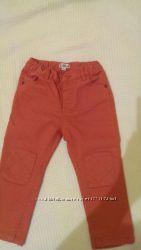 Джинсы, оранжевые джинсы, модные джинсы, джинсы,