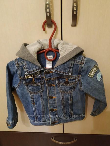 Ветровка Carters, классная  ветровка, ветровка, джинсовая куртка