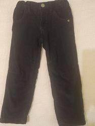 Штаны вельветовые, модные штаны, брюки, штаны