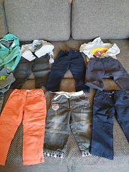 Пакет одежды, штаны, микс одежды, кофта, рубашка, штаны Crazy 8, джинсы