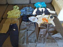 Пакет одежды, штаны,  теплая кофта, Бемби, джинсы Calvin Klein, Next