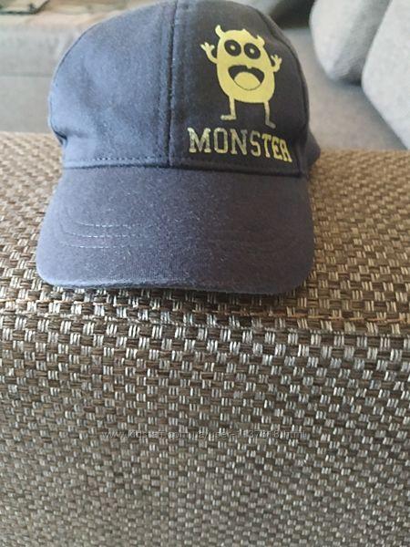 Кепка, модная кепка, кепка с монстром